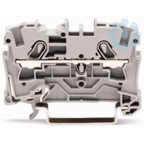 Клемма 2-проводная проходная 0.5-4(6)мм2 на DIN рейку