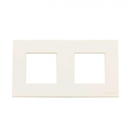 Рамка 2-м 4мод. Zenit бел. ABB N2272 BL