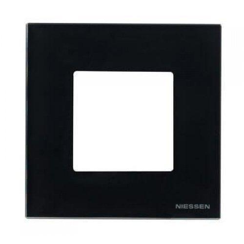 Рамка 1-постовая ABB Zenit антрацит 2CLA227100N1801