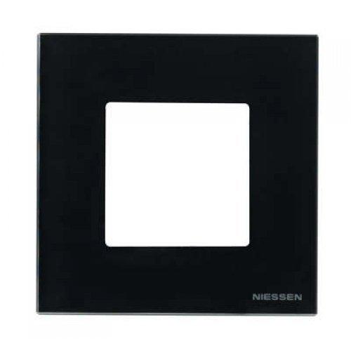 Рамка 1-м 2мод. Zenit антрацит ABB N2271 AN