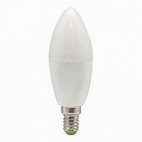 Лампа светодиодная LED 7вт E14 белый матовая свеча 25476 FERON