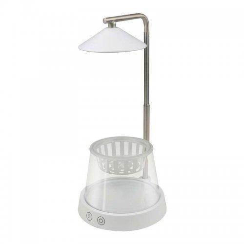 Светильник светодиодный для растений ULT-P36-3W/4000K+SPSB WHITE 4000К IP40 с подставкой и декоративной емкостью спектр для рассады и цветения Uniel UL-00004137
