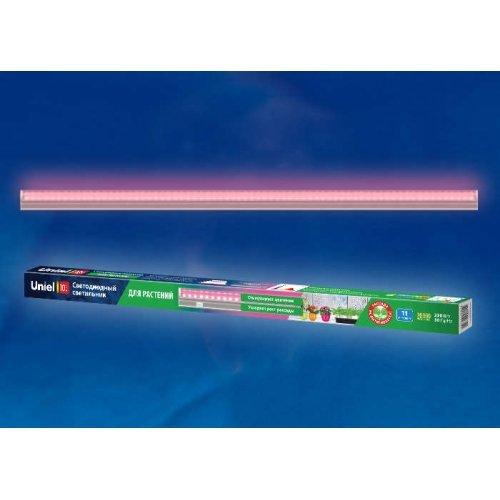 Светильник светодиодный для растений ULI-P20-10W/SPSB SILVER 570мм IP40 линейный выкл. на корпусе спектр для рассады и цветения серебр. Uniel UL-00002549