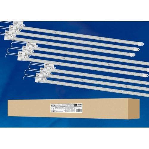 Светильник светодиодный для растений ULY-P91-20W/SPFR/K CLEAR AC220V KIT09 1200мм IP65 линейный спектр для фотосинтеза (уп.9шт) Uniel UL-00003853