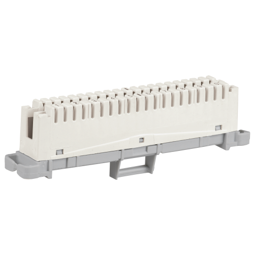 Плинт размыкаемый ITK 10 пар аналог Krone маркировка 1-0 серый