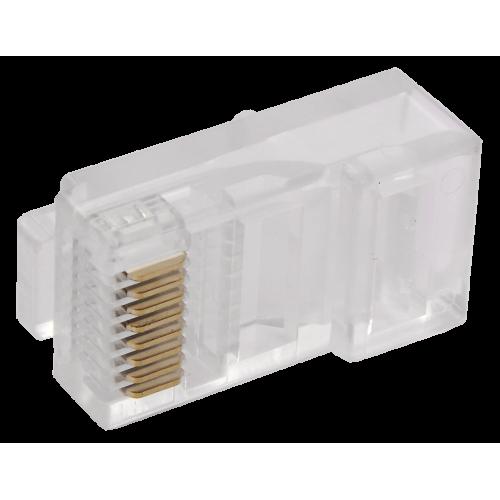 Разъем RJ45 UTP для кабеля категории 6 без вставки (CS3-1C6U)