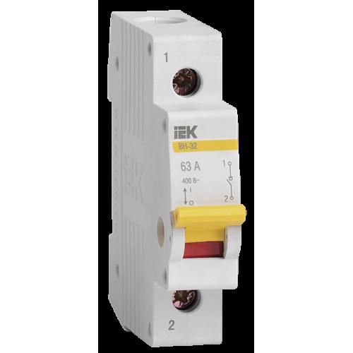Выключатель нагрузки 1п ВН-32 25А