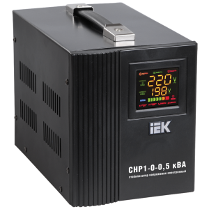 Стабилизатор напряжения однофазный 0.5 кВА СНР1-0-0.5 кВА