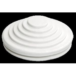 Сальник d=25мм (Dотв 27мм) белый