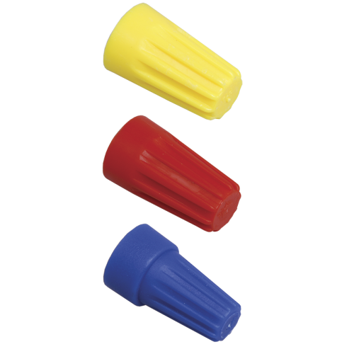 Скрутка СИЗ-1 2.5-4.5мм желтая (100шт)