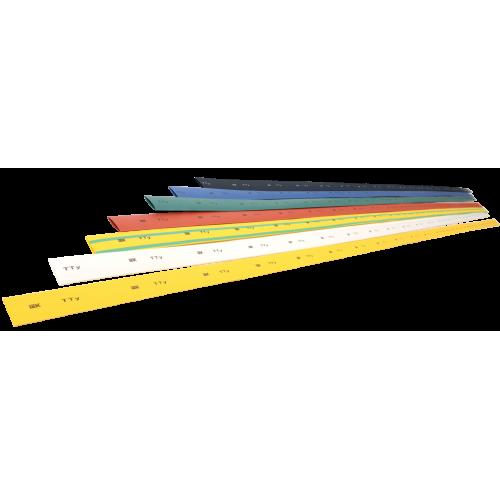 Трубка термоусаживаемая ТТУ 40/20 желто-зеленая (1м)