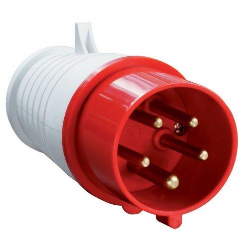 Вилка кабельная 16А 3Р+N+E IР44 переносная 380В 015