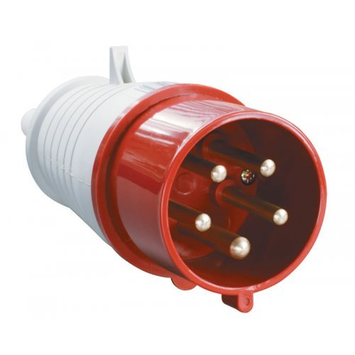 Вилка кабельная 32А 3Р+N+Е IР44 переносная 380В 025