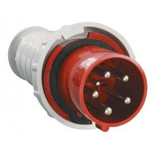 Вилка кабельная 63А 3Р+N+Е IР54 переносная 380В 035