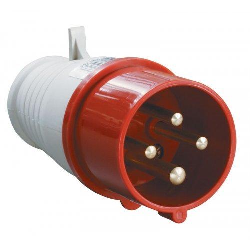 Вилка кабельная 16А 3Р+E IР44 переносная 380В 014