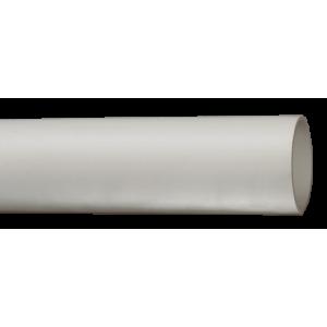 Труба гладкая жесткая 40мм серая (3м)