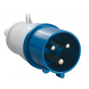 Вилка кабельная 32А 2Р+E IР44 переносная 250В 023