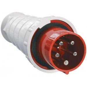 Вилка кабельная 125А 3Р+N+Е IР54 переносная 380В 045