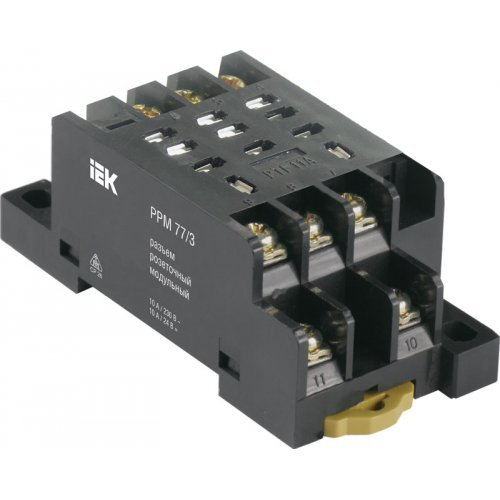 Разъем модульный РРМ77/3(PTF11A) для РЭК77/3(LY3)