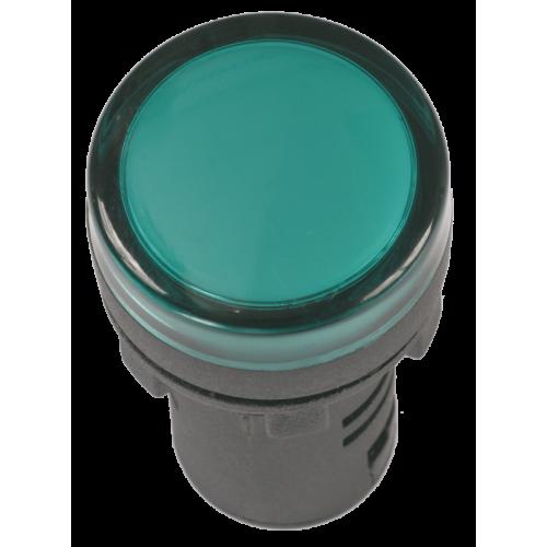 Лампа A22DS LED матрица 22мм зеленая 24В AC/DC