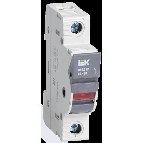 Предохранитель-разъединитель с индикацией ПР32 1P 10х38 32А