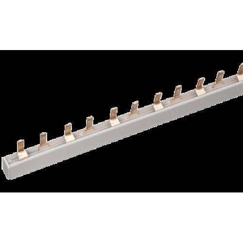 Шина соединительная типа PIN (штырь) 1-фазная 63А (1м)