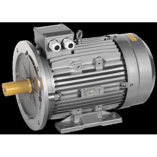 Электродвигатель трехфазный АИС 132M4 380В 7.5кВт 1500об/мин 2081 DRIVE