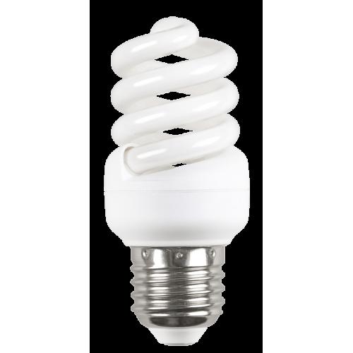 Лампа энергосберегающая КЛЛ 11/840 Е27 D34х91 спираль