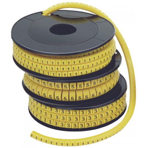 Кольцо маркировочное 3-10мм (A) МК (180шт)
