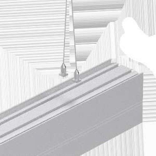 Комплект для подвеса светильников серии Т-Лайн (1,5х1000мм)
