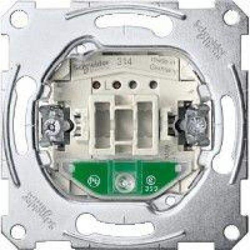 Механизм переключателя 1-кл. 1-пол. c подсвет. СП Merten System M 10А SchE MTN3136-0000