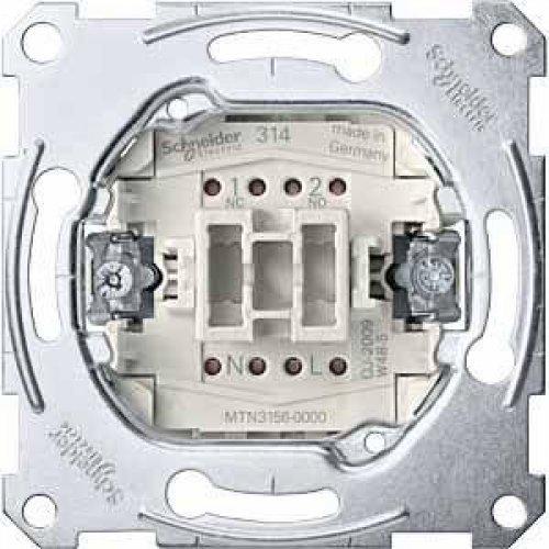 Механизм переключателя СП 1п Merten с самовозврат. 10А SchE MTN3156-0000