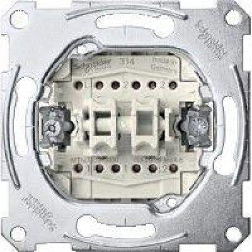 Механизм переключателя СП 2-кноп. 1п Merten на 2 напр. с зам. конт. SchE MTN3159-0000