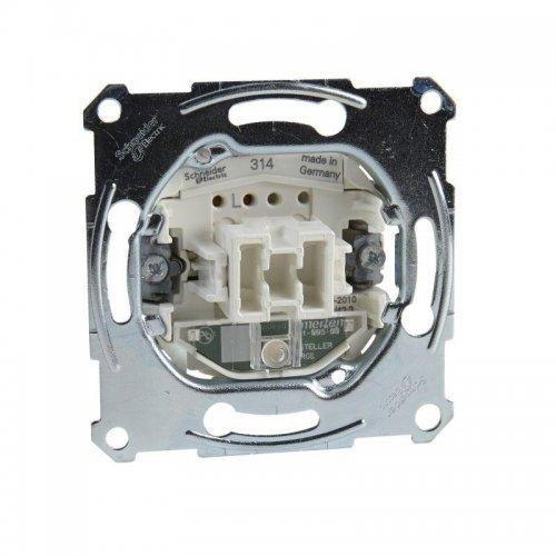 Механизм переключателя СП Merten с подсветкой 16АХ SchE MTN3636-0000