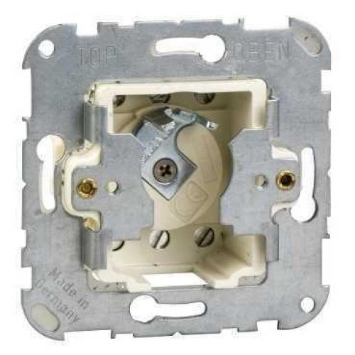 Механизм переключателя СП поворотный 10А 250В Merten с фикс. положения; с замком SchE MTN318601