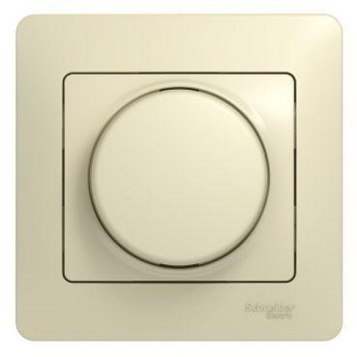 Светорегулятор (диммер) СП Glossa 600Вт/В.А универс. в сборе беж. SchE GSL000236