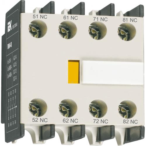 Приставка ПКИ-40 дополнительные контакты 4з