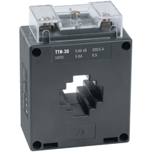 Трансформатор тока ТТИ-30 250/5А 5ВА без шины класс точности 0.5S
