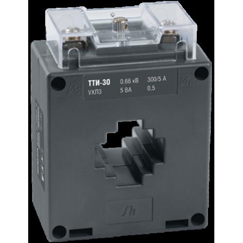 Трансформатор тока ТТИ-30 200/5А 5ВА без шины класс точности 0.5S