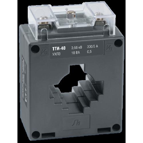 Трансформатор тока ТТИ-40 300/5А 5ВА без шины класс точности 0.5
