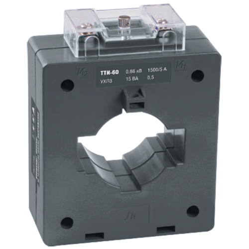 Трансформатор тока ТТИ-60 800/5А 10ВА без шины класс точности 0.5