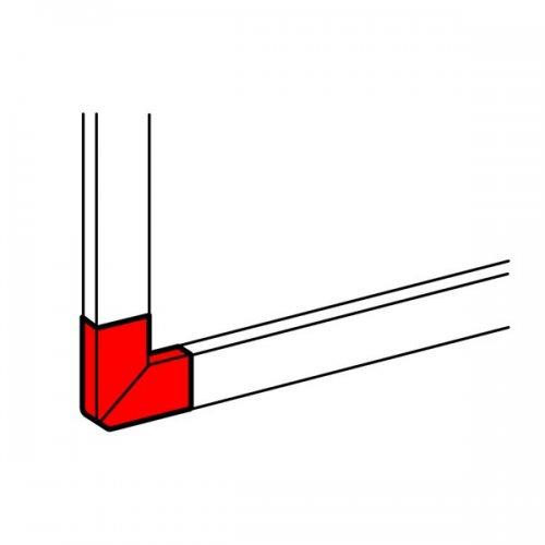 DLP Угол плоский Г-образный 50х80 белый
