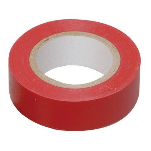 Изолента ПВХ красная 15мм 20м