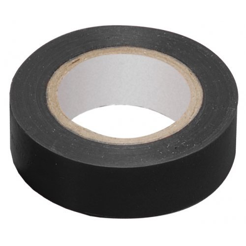 Изолента ПВХ черная 15мм 20м