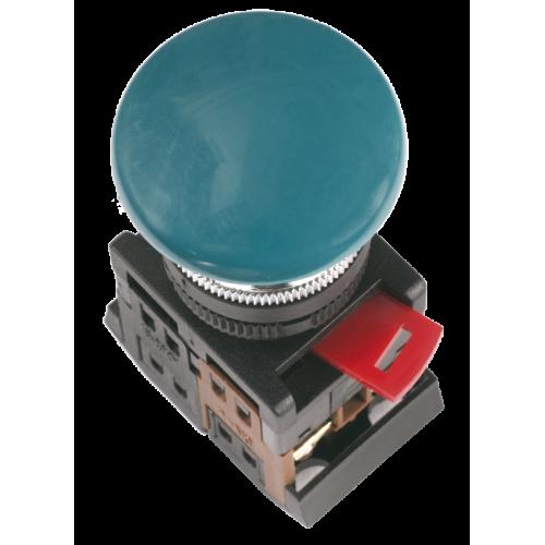 Кнопка красная AEA-22 Гриб без подсветки 1з+1р 240В