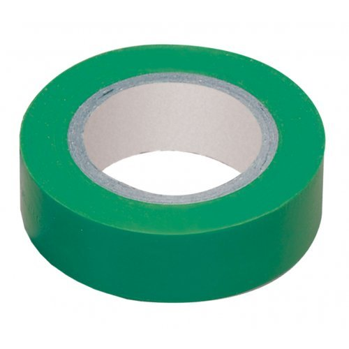 Изолента ПВХ зеленая 19мм 20м