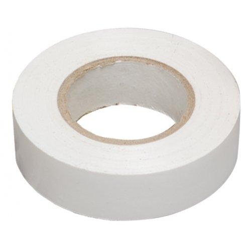 Изолента ПВХ белая 19мм 20м
