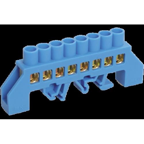 Шина N ноль комбинированный DIN-изолятор типа Стойка ШНИ-8х12-6-КС-С