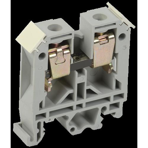 Клемма ЗНИ-6 мм.кв. серый