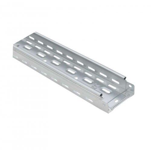 Лоток листовой перфорированный 100х50 L3000 сталь 1.2мм HDZ ИЭК CLP10-050-100-120-3-M-HDZ